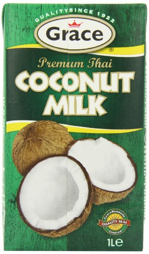 Grace Premium Coconut Milk 1 Litre (Pack of 12) (Grace Coconut)