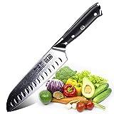 SHAN ZU Santokumesser Kochmesser 67 Schichten Damastmesser Messer mit G10 Griff