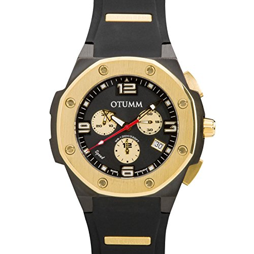 Otumm Speed Schwarz 010 Black 45mm Unisex Speed Uhr