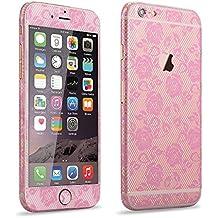 PhoneStar Glamour película de blonda pegatinas redondas Special Skin para el Apple iPhone 6, 6s en rosa
