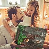 Image of Kaffee-Adventskalender I Weihnachtskalender mit 24 edlen Kaffees aus aller Welt I Kaffeekalender als Geschenk für Erwachsene I Kaffee Geschenkset in der Weihnachtszeit Adventszeit