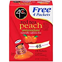 4C Iced Tea Stix - Red Tea Peach 24pk