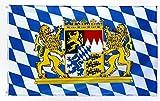 Star Cluster 90 x 150 cm Bayern Flagge/Bayern Fahne/Fanartikel/Bavaria Flag...