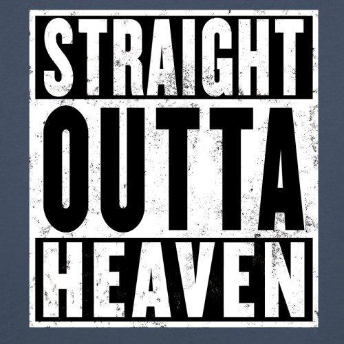 Straight Outta Heaven - Herren T-Shirt - 13 Farben Navy