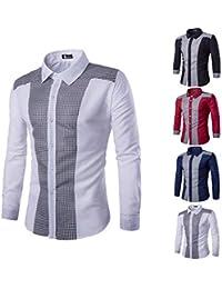 513a4c0a0b597 Winwintom -Camisas Hombre Camisas Hombre De Manga Larga