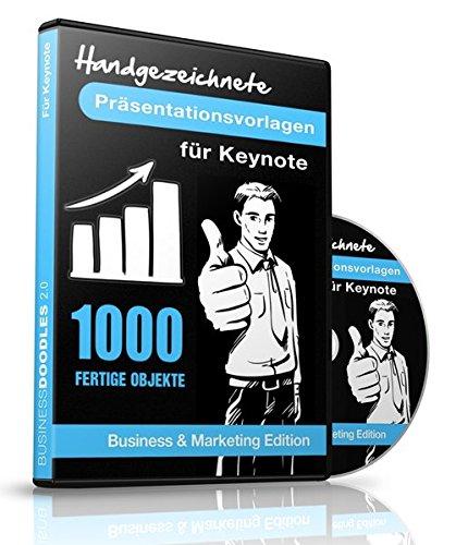 1000 Handgezeichnete Präsentationsvorlagen für Apple Keynote -: Business & Marketing Edition - Für Mac par Samuel Cremer