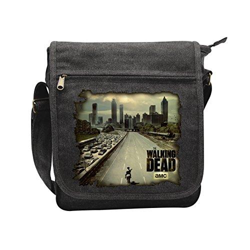 Walking Dead Atlanta Borsa a tracolla antracite antracite