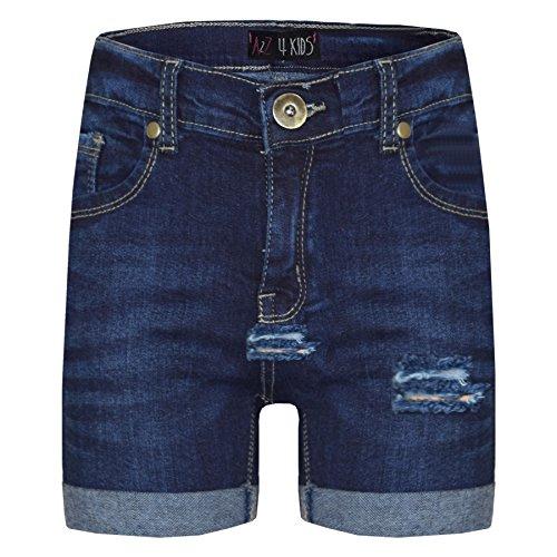 A2Z 4 Kids® Kids Shorts Girls Boys Denim Ripped Chino Bermuda Shorts Casual Knee Length Half Pant New Age 5 6 7 8 9 10 11 12 13 Years