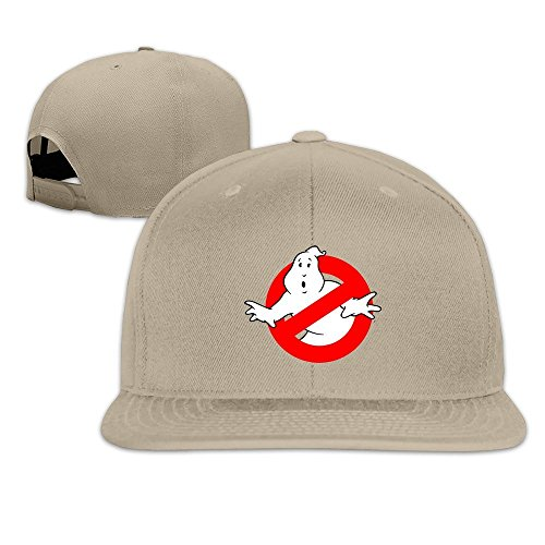 Hittings Unisex Ghostbusters Adjustable Snapback Baseball Caps 100%cotton Natural One Size Natural