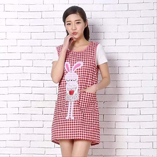 - Red Bauer Kleid