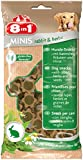 8in1 Minis Mega-Selection Hundesnacks (fettarm, glutenfrei, zuckerfrei, zehn verschiedene Sorten, Huhn Rind Lamm Kaninchen Pute Ente Hirsch Fisch), 1 kg Beutel (10 x 100g) - 34