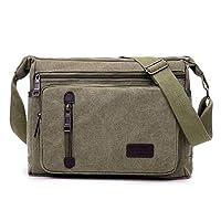 بوانتي حقيبة للرجال-اخضر جيشي عشبي - حقائب طويلة تمر بالجسم