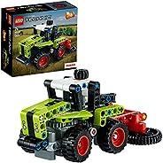 LEGO 42102 Technic Mini CLAAS XERION Traktor & Feldhäcksler, 2-in-1 Bausatz, Sammlung von Schwerlastfahrze