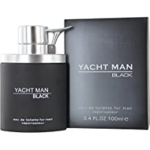 myrurgia Yacht Man Black Eau De Toilette vaporisateur/Spray para él 100ml
