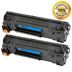 2 Pack 2inkjet NEW CF283A 83A Black Compatible Toner Cartridge For LaserJet M127fn M127fw MFP M125nw MFP M125rnw