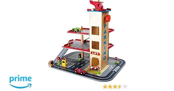 Houten Garage Janod : Legler 4777 garage rampes de bois: amazon.fr: jeux et jouets