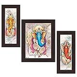 #3: Wens 'Ganesha Indian Deity' Wall Art (MDF, 30 cm x 34 cm x 1.5 cm , WSP-4306)