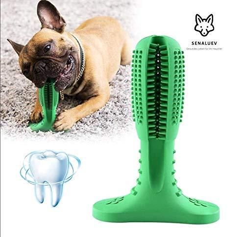 SENALUEV Hundezahnbürste Stick Hund Zahnpflege Silikon Pet Zahnbürste Kauspielzeug Geschenk für Hunde Hundespielzeug Dog Toothbrush Zahn von Hund Zahnreinugung Zahnfleisch Zahnpflege Hund Mundpflege
