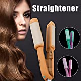 Portable Electric Hair Sticks Hair Straightener Hair Perm Pull Straight Board