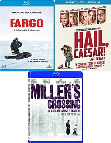 Joel & Ethan Coen Movie Collection Blu ray - Fargo / Hail Caesar / Miller's Crossing