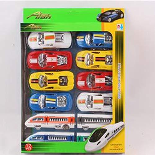 ARDUTE Classic Toys Sports Car Alloy Car Toy Model Sliding Car Random Mixed for Baby Halloween Christmas Birthday Gift