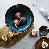 WAN Kitchenaid Mikrowelle Getreide Dip Schüssel große Pasta Schüssel blau Geschirr Ramen Nudel Brei Suppenschale Glasur 7 Inch