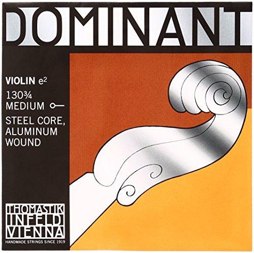 Thomastik Dominant Violine 3/4-E-Saite 130 Aluminium umsponnen