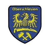 Patch / Aufnäher -Oberschlesien Schlesien Schlesier Adler Wappen Abzeichen Patch Polen #14478