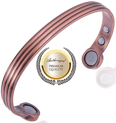 Magnetarmband Kuper Herren Manner - Gesundheit Armrief - Super Starkes