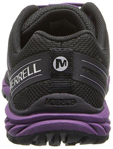 Merrell Bare Access Trail, Chaussures de trail femme Multicolore - Mehrfarbig (BLACK/PURPLE)