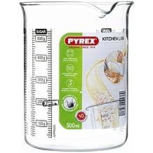 Pyrex 505040 Kitchen Lab Messbecher, 0,5 L