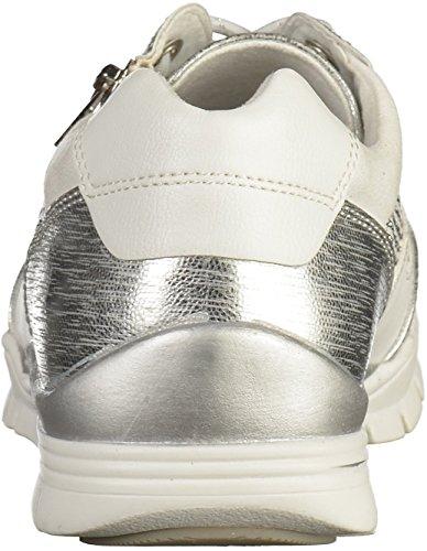 Marco Tozzi 2-23621-28 Damen Sneakers Weiß