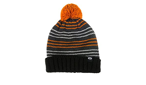 Bonnet à Pompon Enfant Stan gris-orange ANIMAL - Taille Enfant  Amazon.fr   Vêtements et accessoires 5424da73256