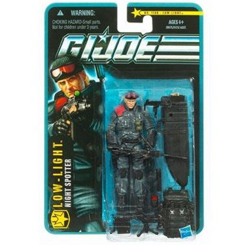 G.I. Joe Pursuit of Cobra 3 3/4 Inch Action Figure Lowlight Night Spotter Hasbro