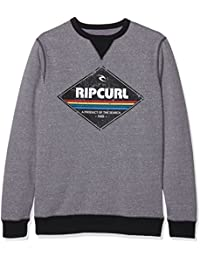 Rip Curl Diamond Crew Sweat-shirt Homme Beton