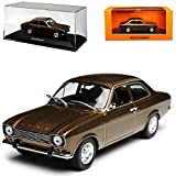 alles-meine.de GmbH Ford Escort MKI 3 Türer Limousine Braun 1. Generation 1967-1974 1/43 Minichamps Maxichamps Modell Auto