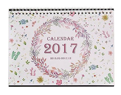 Calendrier Septembre - Pratique Septembre ici à 2016 à Décembre