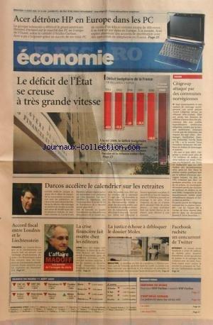 figaro-economie-le-no-20228-du-12-08-2009-acer-detrone-hp-en-europe-dans-les-pc-le-deficit-de-letat-