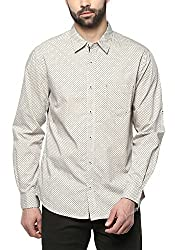 Spykar Mens Beige Slim Fit Casual Shirts (XXX-Large)