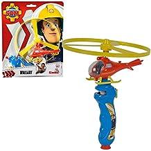 Sam El Bombero - Fireman Sam - Wallaby Helicóptero de Vuelo Juego
