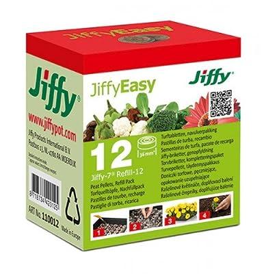 JIFFY Torfquelltöpfe Ø36mm, 12 Stück von Detia Garda bei Du und dein Garten