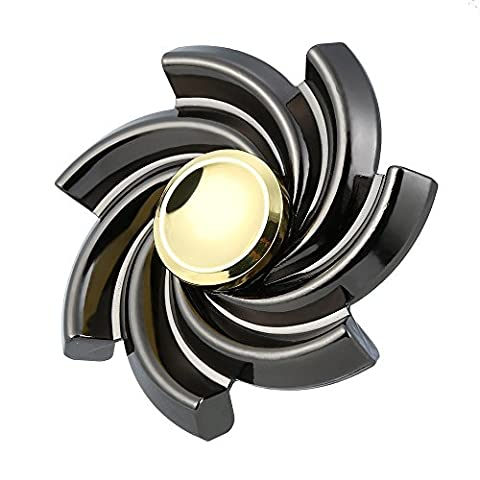 Ayanfo New Flower Cyclone Fidget Hand Spinner Alloy Finger Toy EDC Focus Desk Toy Gift for Kids & Adults