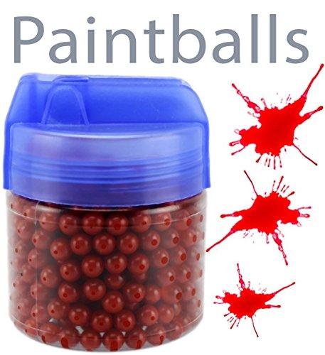 GYD Softair-Paintball-Munition 500 Stück 6mm.BB Rote-Kugeln (Softair Paintballs)