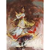 Digital Painting Kathak Dance Painting Indian Art On Fine Art Paper 13x19