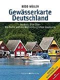Gewässerkarte Deutschland Nordost: Elbe bis Oder - Bodo Müller