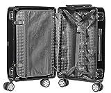 Packenger Alu Professional Koffer, Größe M mit 45 Liter, Schwarz - 2