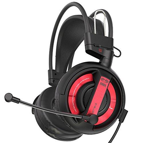 Gaming Headset, E-Blue ehs956Over-Ear-Kopfhörer mit Mikrofon und Lautstärkeregler Stereo für PS4und Xbox One (kein Adapter im Lieferumfang enthalten) 001 blau