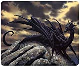 Dark Dragon Fantasy Gaming Mauspad Mousepad Mauspad