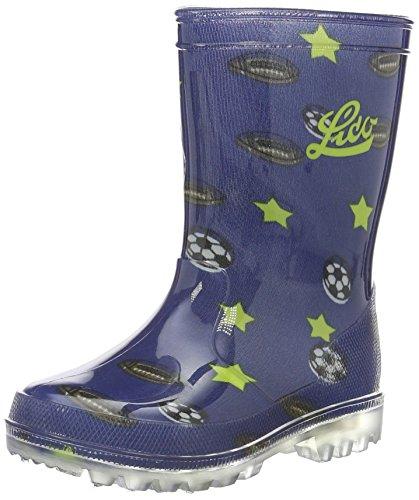 Lico Boys' Powerlight Blinky Wellington Boots