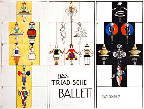 Kunstdruck/Poster: Oskar Schlemmer Figurine/Triadisches Ballett - Hochwertiger Druck, Bild,...